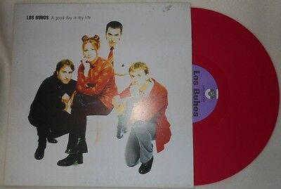 Los Buhos A Good Day In My Life Lp Animal Records 1998 Lp022 Insert Mod Revival