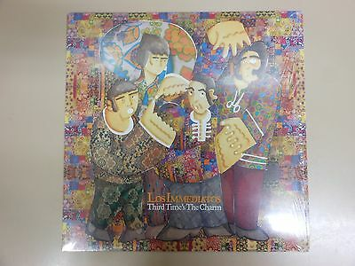 Los Immediatos Third Time's The Charm Lp+Insert+Cd 2010 Garage Beat 60's Pop Nm