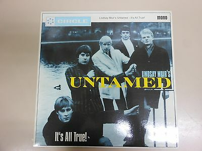 Lindsay Muir's Untamed It's All True! Lp+Insert Circle Records 1999 Mod R&b Who