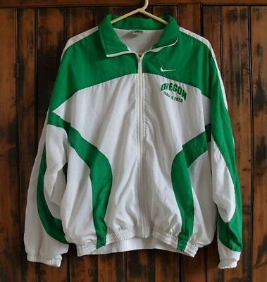 Vintage NIKE 1990's University of OREGON DUCKS TRACKSUIT Top AND Bottom !!