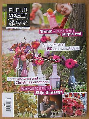 Fleur Creatif @ Home Special Autumn 2016 50 DIY ideas Christmas Creations