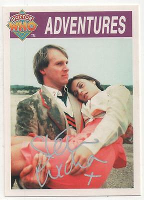 """Dr Who Cornerstone Trading Card No.272 Auto by Steven Wickham """"Soldier"""""""