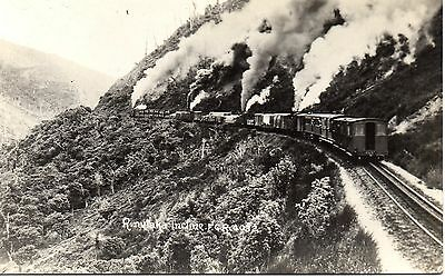 RIMUTAKA INCLINE, Steam Engines, NEW ZEALAND, F.G.R. 4032 VINTAGE RP P'CARD