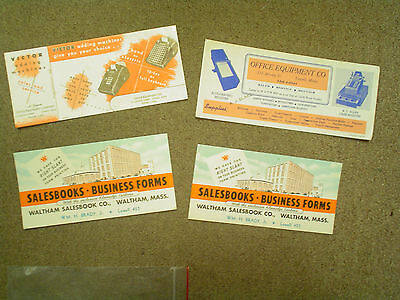 Vintage Advertising Ink Blotter Lot Business & Office Supply Related