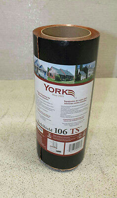 York 10in York Shield 106 Termite Shield Copper Flashing 10x 60