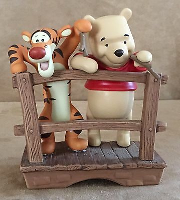 It's so much friendlier with two Tigger Winnie the Pooh & friends figurine