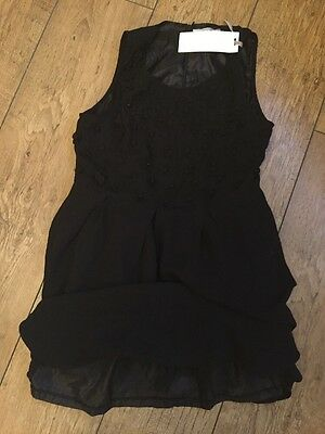 LADIES BLACK PARTY DRESS SIZE 10 New With Tags