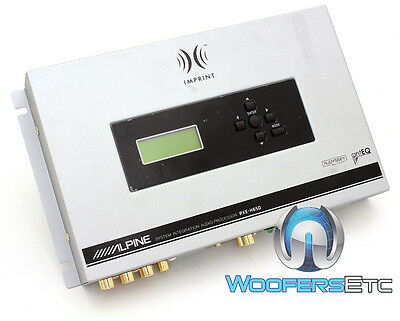 Alpine Pxe-H650 Imprint Factory Sound Processor Works With All Stereo Players
