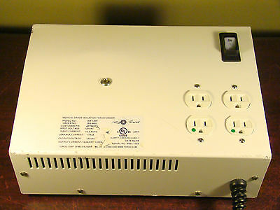 Toroid Corp Isb-120A Medical Grade Isolation Transformer 4-Outlet 10Amp 1200Va