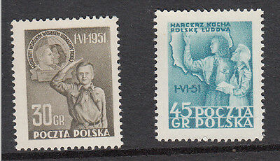 POLAND : 1951 International Day of the Child, 1 June 1951 - MNH