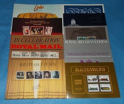 Royal Mail & Other Souvenir Books / Folders / Packs / Documents - Select Item