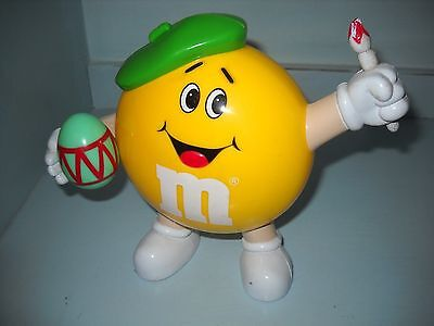 M & Ms Artist Figure Sweet Container