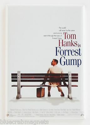 Forrest Gump FRIDGE MAGNET (2 x 3 inches) movie poster tom hanks