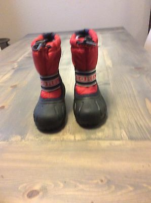 Sorel Kids Snow Boots Size 11