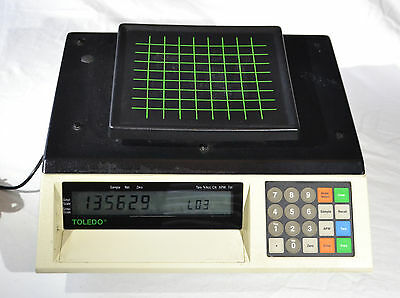 Mettler Toledo 8572 Digital Counting Scale 0-5 lb with Power Supply