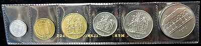 1973 Iceland 6 Coin Mint Set