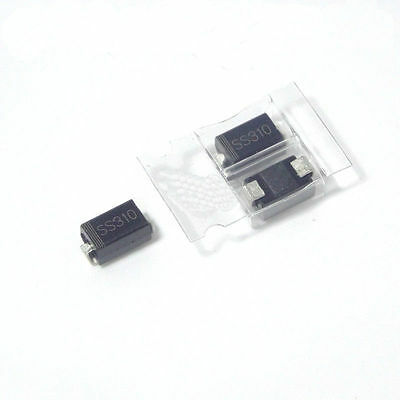 SS34/54/24/12/210/310/110/260 SR36 1N5819  SMA Series SMD SMT Schottky Diodes