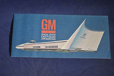 1964 *MINT* GM Overseas Operations at the New York Worlds Fair
