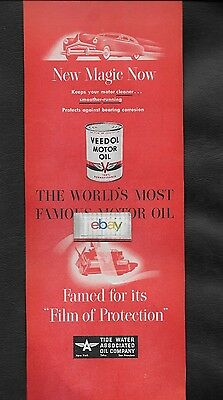 Tide Water Associated Oil Company Flying A Veedol New Magic Now 1938 Ad