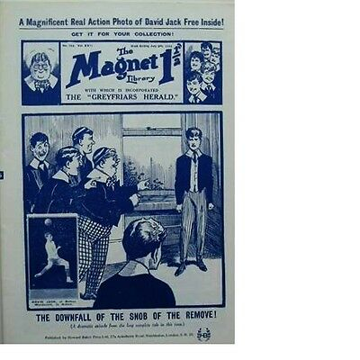The Magnet Library July 1922 THE FALL OF ALGERNON #752 Facsimile HOWARD BAKER