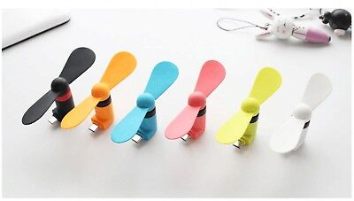 Cooling For Android Phone Samsung HTC LG Micro Mini USB Electric Fan Chic Phone