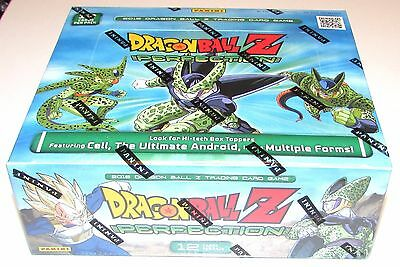 DRAGON BALL Z PERFECTION BOOSTER BOX 24 packs 12 cards per pack NEW SEALED