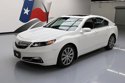 2014 Acura TL Base Sedan 4-Door 2014 ACURA TL SPECIAL EDITION HTD LEATHER SUNROOF 54K #008883 Texas Direct Auto