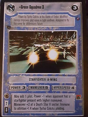 DEATH STAR II star wars ccg swccg Independence Near Mint