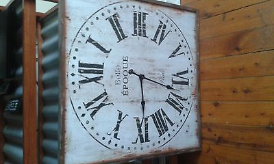 Belle wall clock 700mm x 700mm