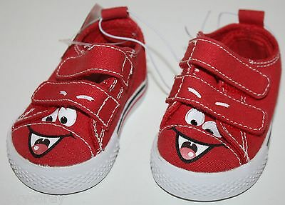 Circo Abel Red Infant Boys Canvas Shoes Size 2 NWT