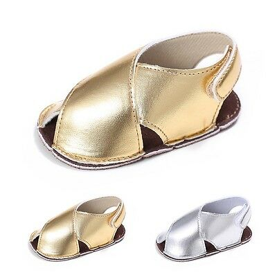 Infant Toddler Baby Girls Soft Sole Sandals Summer Shoes Crib Shoes 0-18 Months