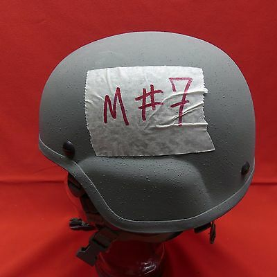 ACH MICH USED Helmet  SDS size MEDIUM  PADS  Chinstrap GRAY M # 7