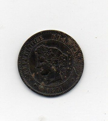 5 centimes 1871 A
