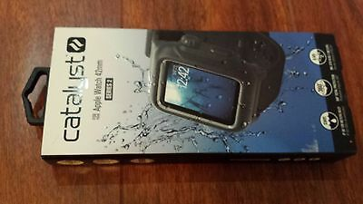 Catalyst - Band and Case for Apple Watch Series 2 42mm - Stealth Black 48489BBR