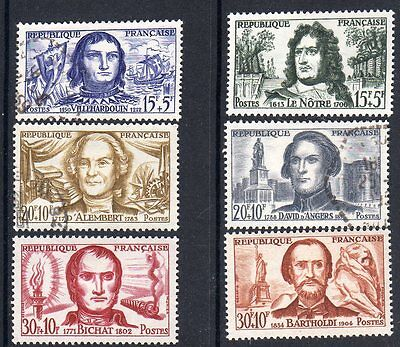 FRANCE 1959 Red Cross Fund set of 6 vf MINT never hinged SG 1428 - 1433