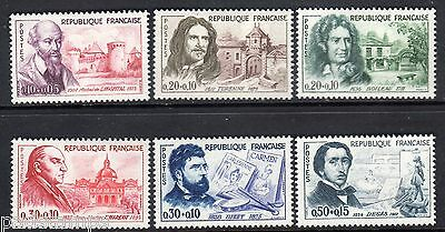 FRANCE 1960 Red Cross Fund set of 6 MINT never hinged SG 1488 - 1493
