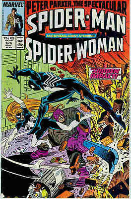 Peter Parker Spectacular Spiderman # 126 (guest: Spider-Woman) (USA, 1987)
