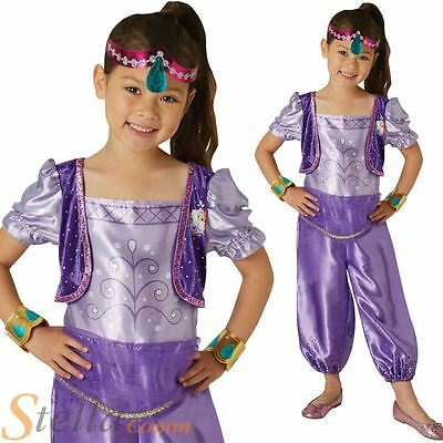 Girls Shimmer u0026 Shine Shimmer Fancy Dress Costume Book Day Genie Child Outfit  sc 1 st  PicClick UK & GIRLS SHIMMER u0026 Shine Shimmer Fancy Dress Costume Book Day Genie ...