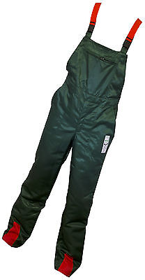 "Chainsaw Forestry Safety Bib & Brace Trousers 38"" Waist"