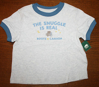 NEW!! BABY ROOTS *CANADA* Baby Top T-Shirt 100 Cotton Age 12-18 months