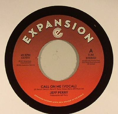 "PERRY, Jeff - Call On Me - Vinyl (7"")"