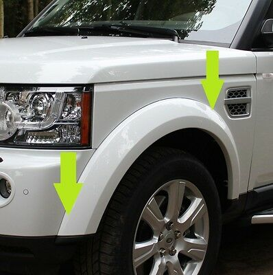 Front Wheel Arch trim moulding for Land Rover Discovery 4 plastic wing LR010632
