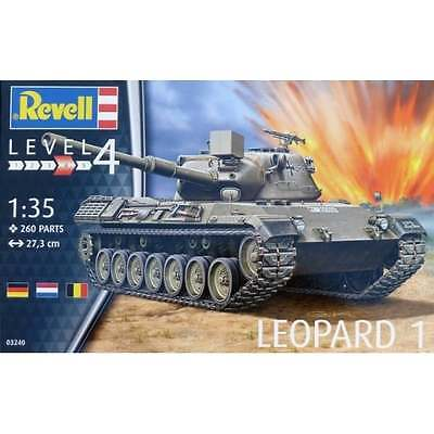 Revell 1:35 Scale Leopard 1 Tank Military Kit - 03240
