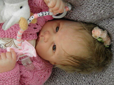 Lifelike Reborn Baby Doll ''Winnie'' by Emily Jameson Sold Out Kit