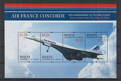 Z8. Bequia - St.Vincent - MNH - Transport - Airplanes