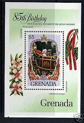 Grenada1985 Life & Times Queen Mother MS1429 MNH