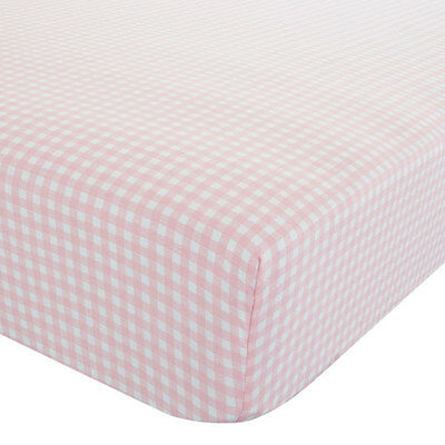 Catherine Lansfield Kids Gingham Fitted Sheet, Multi