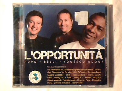PUPO PAOLO BELLI YOUSSON N'DOUR L'opportunita' cd ep POOH PAGO SIGILLATO SEALED