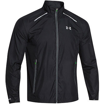 Under Armour 2016 Mens UA Storm Launch Run Jacket Water Resistant Full Zip Top