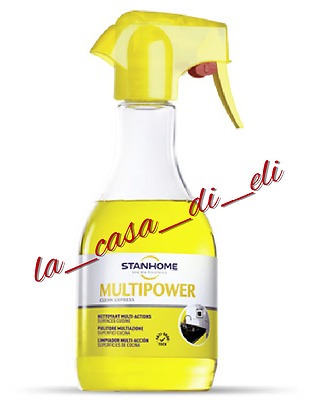 Stanhome: Multipower - 4 In 1 - Da 500 Ml (Pulitore Multifunzione)